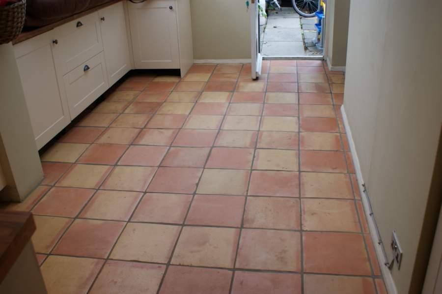 Quarry Tiled Floor