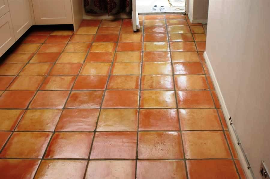 Quarry Tiled Floor After