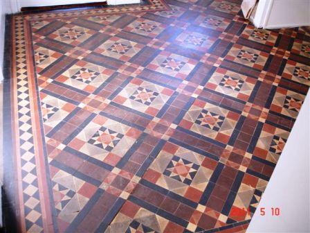 Refurnished Victorian Tiled Floor
