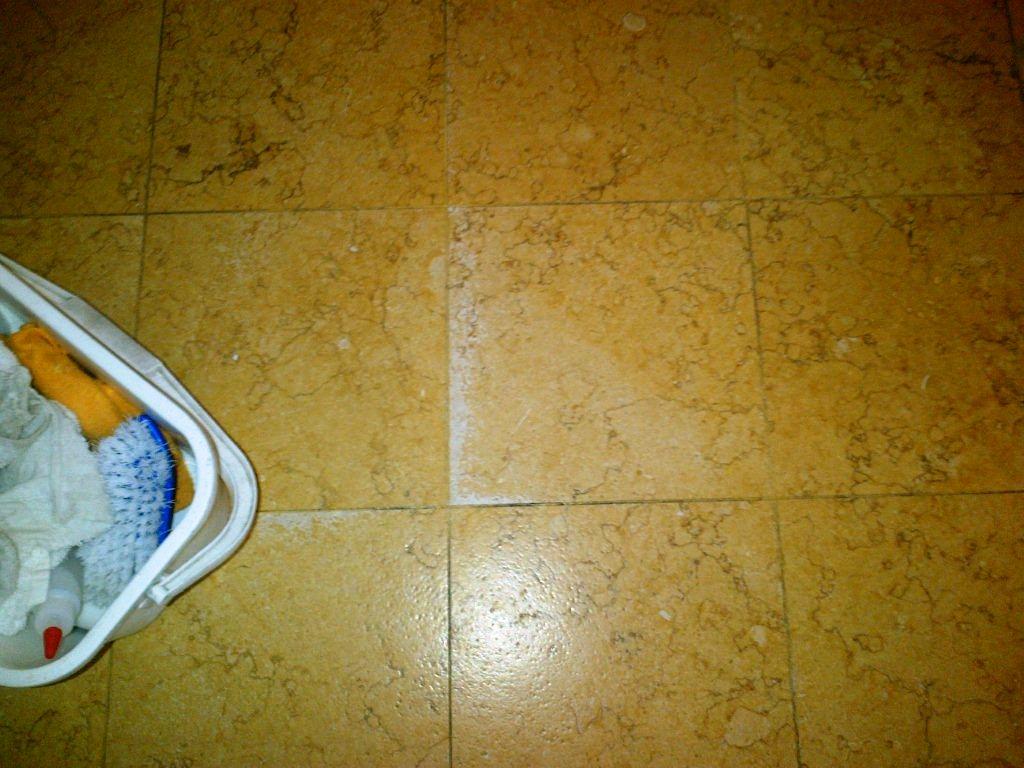 Textured Marble floor in Chesham Before