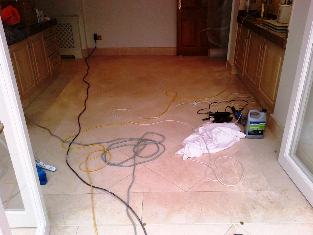 Marble Floor Cleaning in Ealing