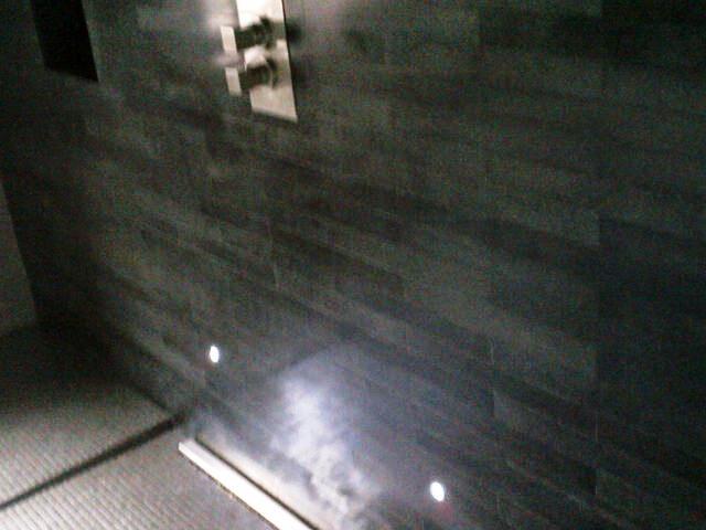 Mosaic Tiled Floor and Basalt Tiles After