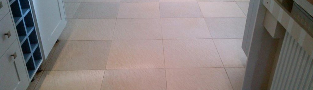 Deep Cleaning Textured Ceramic kitchen floor tiles Wendover Bucks