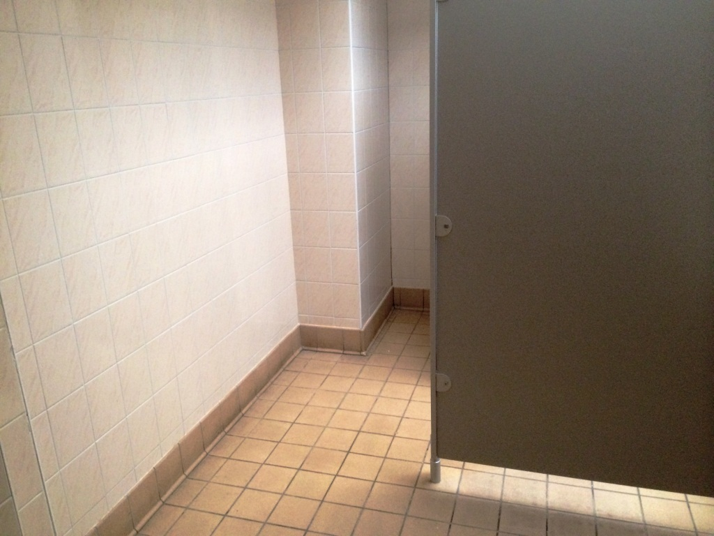 Cleaning Ceramic Wall And Floor Tiled Toilets In A London