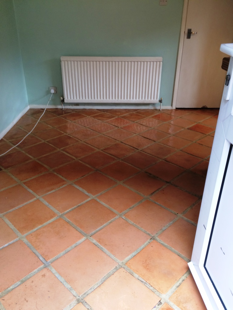 Terracotta Kitchen Tiled Winchmore Hill After