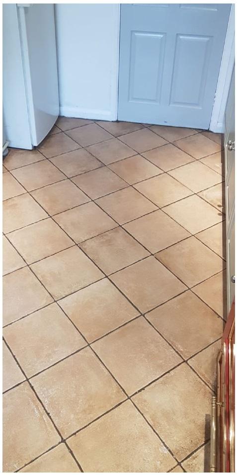 Porcelain Tiled Kitchen Floor After Cleaning Henley on Thames