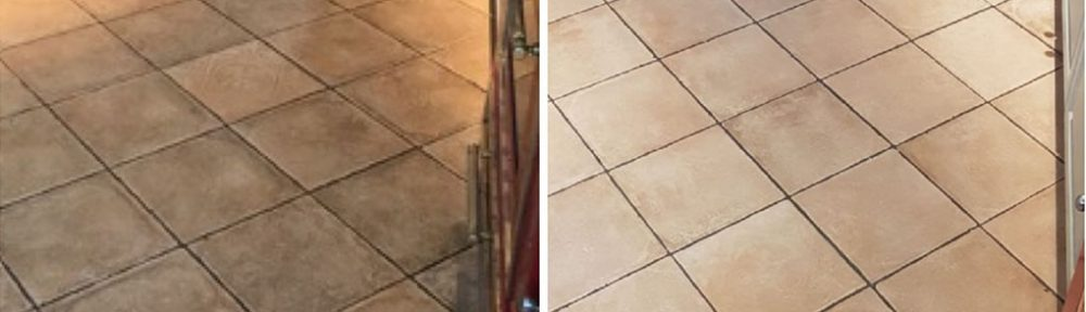 Deep Cleaning Dirty Ceramic Kitchen Tiles in Henley-on-Thames